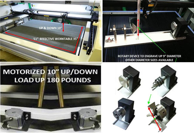Single Head Laser Engraving and Cutting System
