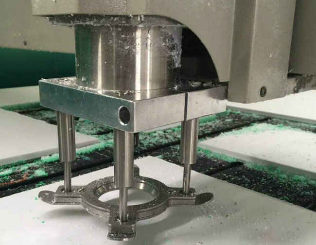 Automatic Fixture Clamp Plate Device application 2