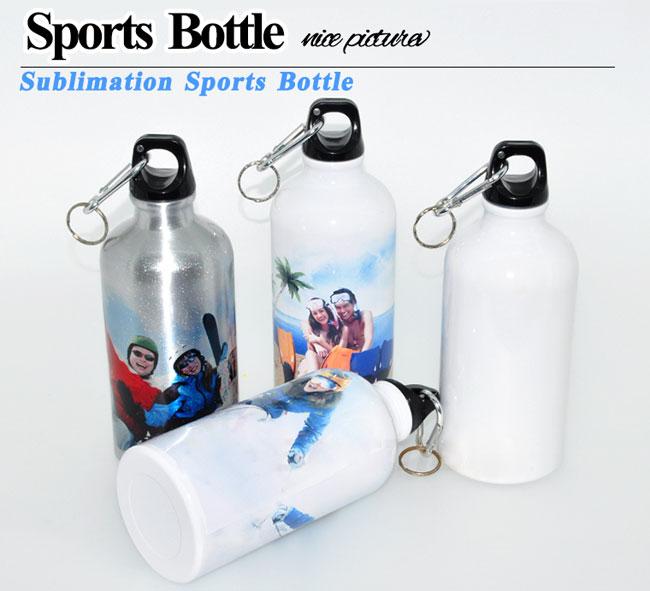 Sports Bottle Phone Case: 600ml Blank Aluminum Sports Bottle For Sublimation