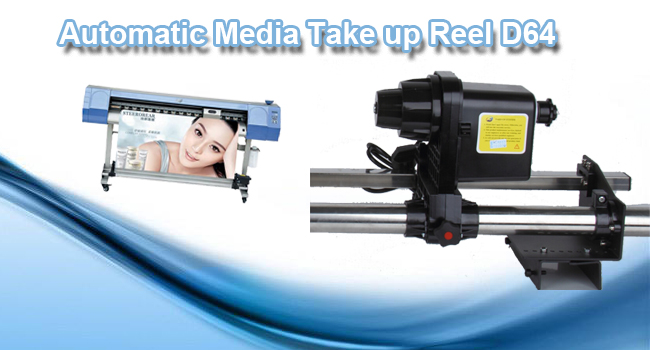 Automatic Media Take up Reel D64