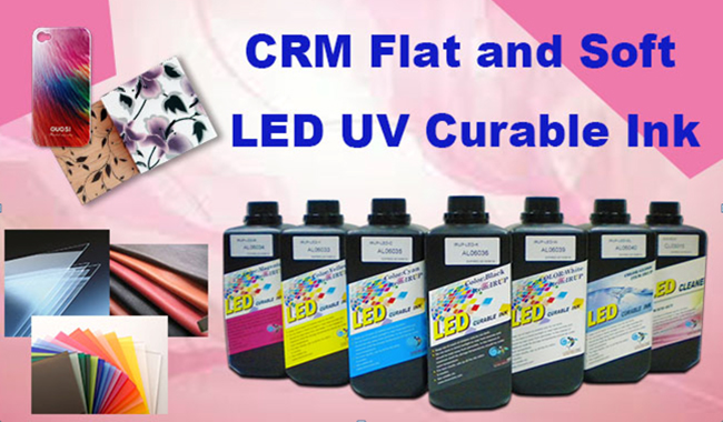 CRM Flat and Soft LED UV Curable Ink
