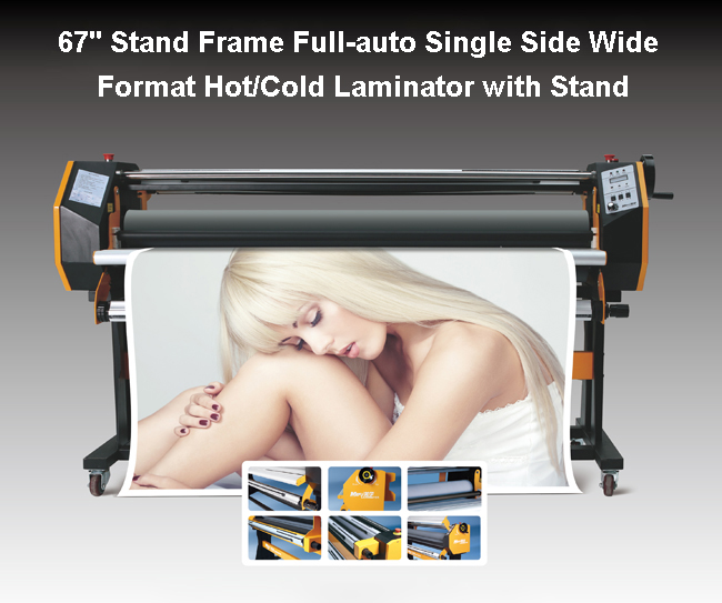 Stand Frame Full-auto Single Side Wide Format