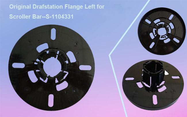 Original Mutoh VJ-1604 Drafstation Flange Right for Scroller Bar S-1104330