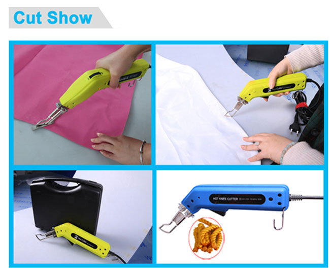 Durable and Practical Hand Hold Banner Hot Heating Knife Cutter Cut Show
