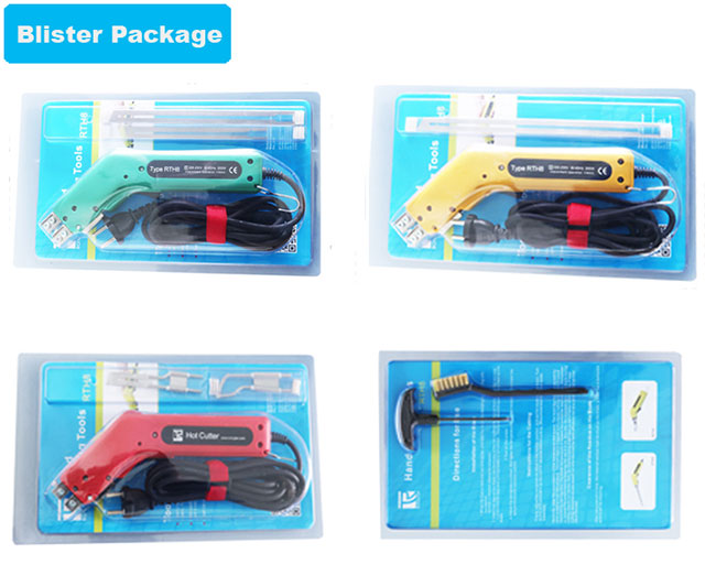 package of Electric Hand Held Hot Knife