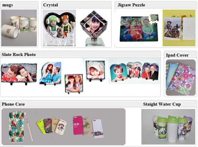Sublimation Heat Press Machine for Phone Cases Mugs Cups Heat Transfer Printing Application