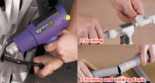 Hot Air Torch Plastic Welding Gun Welder Household Hand Tool  Basic Style With Two Nozzles