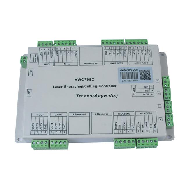 Aa Gattununtava Dsp Version: Trocen Anywells AWC708C LITE Laser Controller System, CO2