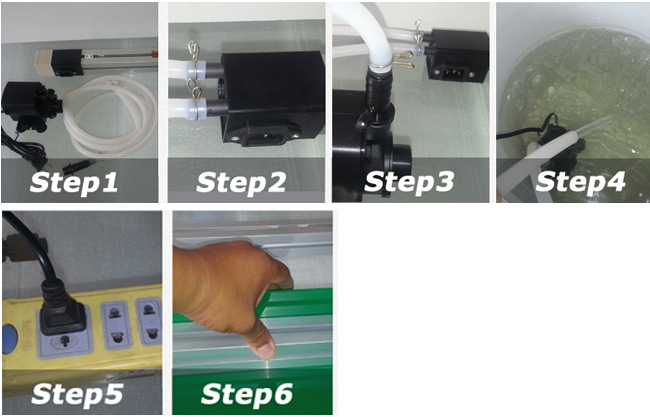 Plastic PVC Bending Machine Usage