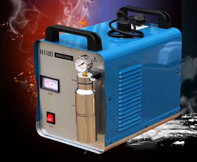 300W Portable Oxygen Hydrogen Flame Generator Acrylic Polishing Machine,