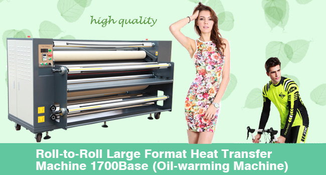 Large Format Heat Transfer Machine Advertising