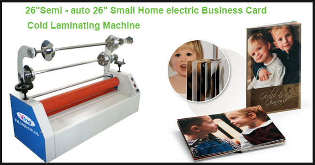 Card Cold Laminating Machine Advertising