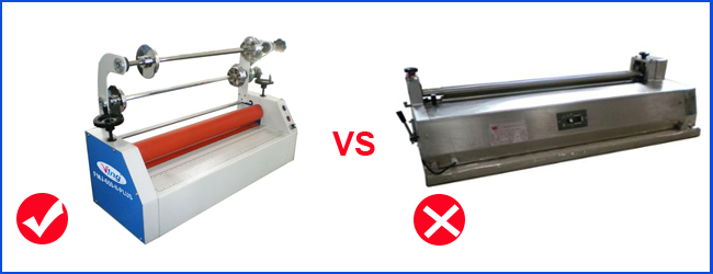 Card Cold Laminating Machine Comparison
