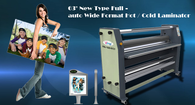 auto Wide Format Hot / Cold Laminator