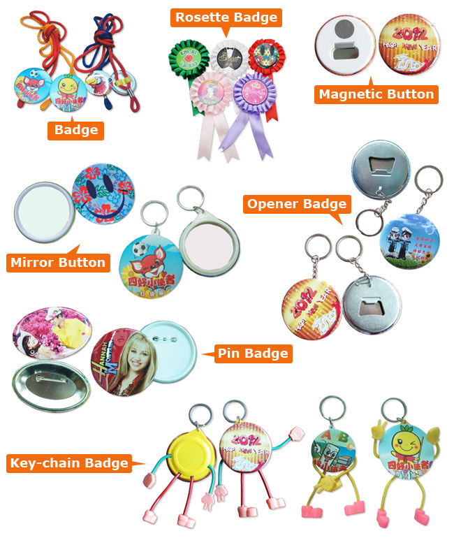 "2016 New Pro 1-3/4"" 44mm Button Maker Machine Badge Press+ Pin Buttons+Bottle Openers+ Magnetic Buttons+Mirror Keychain Buttons +1pc 44mm Circle Cutter Application"