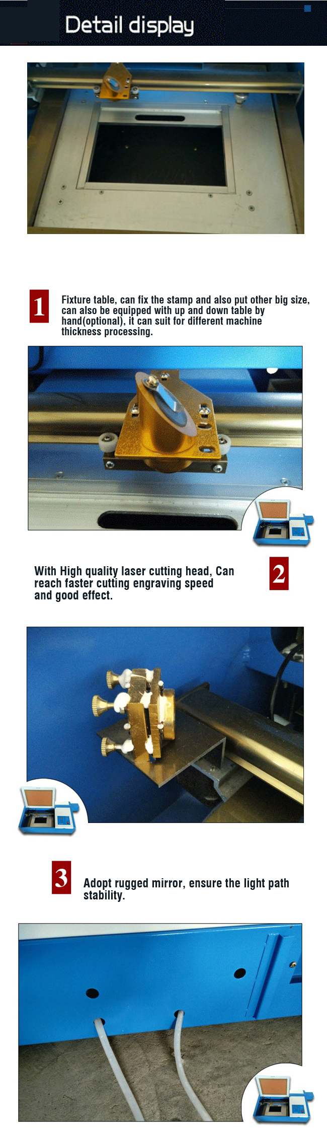 Laser Engraving Cutting Machine Details