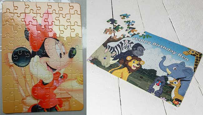 Blank Dye Sublimation Magnetic Jigsaw Puzzle Applicaiton