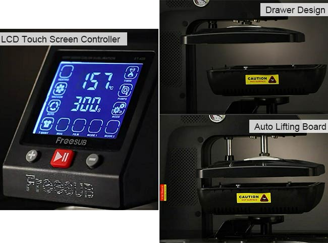Heat Press Transfer Machine Details