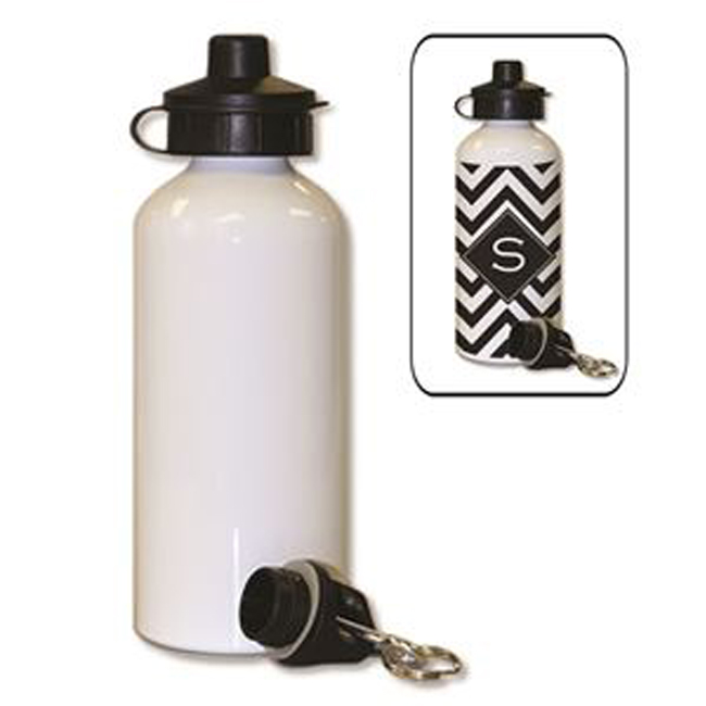 Blank White Sport Bottle for Sublimation Printing