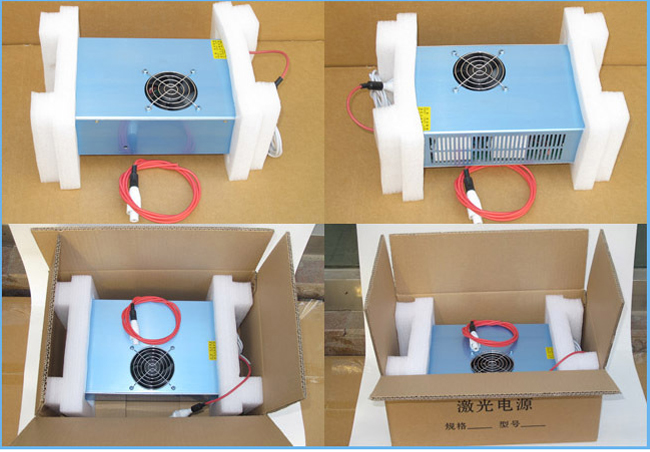 Reci W4 / S4 100 - 130W CO2 Laser Tube Power Supply / Power Source, 220V