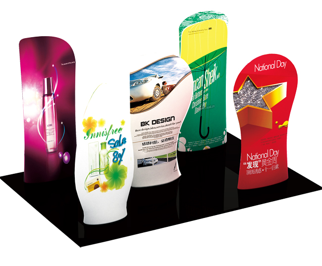 New Allure Fabric Tension Banner Stands (Model Five)