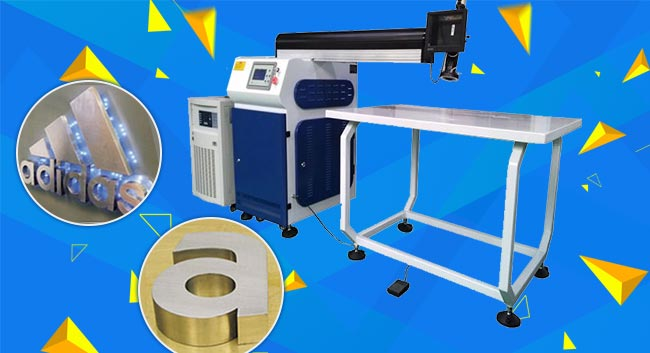 400W Standard YAG Laser Welding Machine for Fine Metal Channel Letter Making