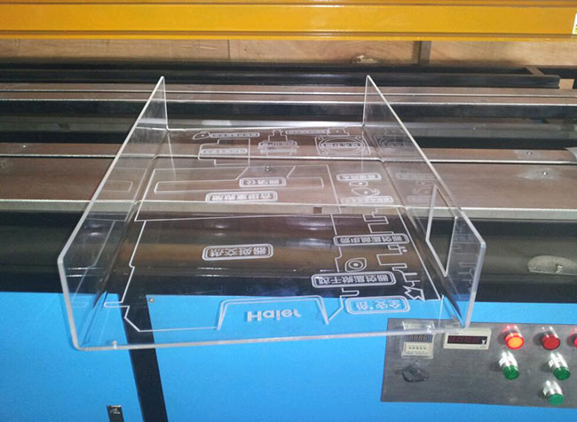 Automatic Acrylic Plastic PVC Bending Machine Double, Side Bending