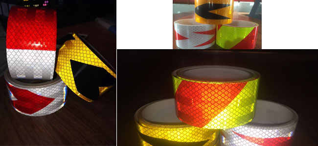 Micro Prismatic Sheeting Reflective Vinyl Tape Roll
