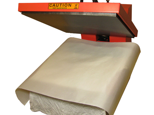 PTFE Coated Fiberglass Fabric Sheet 3Mil Thickness for Sublimation Printing