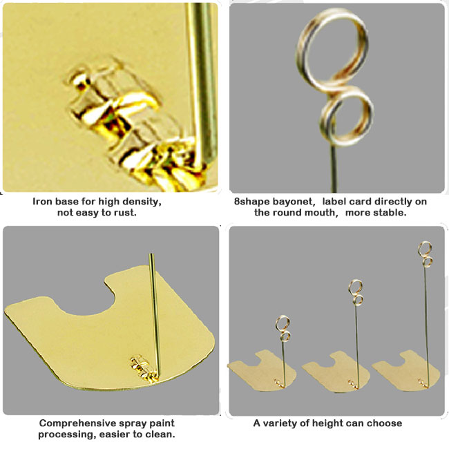 5 cm new style metal wire clips for display