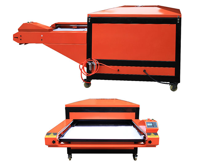 Double Stations Pneumatic Sublimation Heat Press Machine