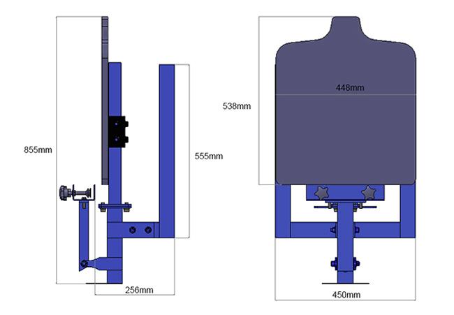 Single color silk screen printing machine 1 1 press diy t for Single shirt screen printing