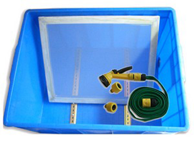 New Single Color Screen Printing Kit Pallet Adjustable Press Exposure Unit