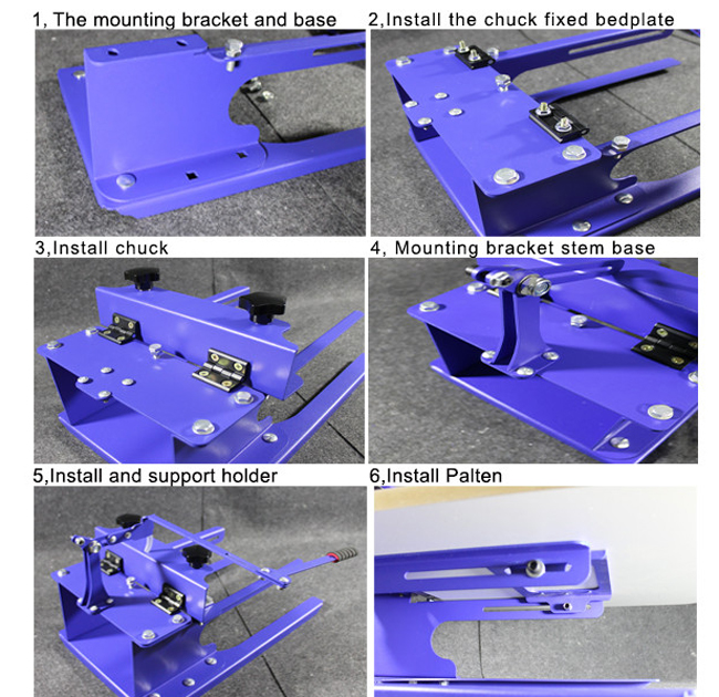 1 Station Silk Screen Printing Machine Diy T Shirt Press Printer
