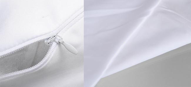 Plain White Heart Shape Sublimation Blank Pillow Case Fashion Cushion Cover