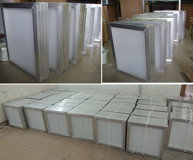 6 pcs - 20x24 inch Aluminum Screen with 110 White Mesh