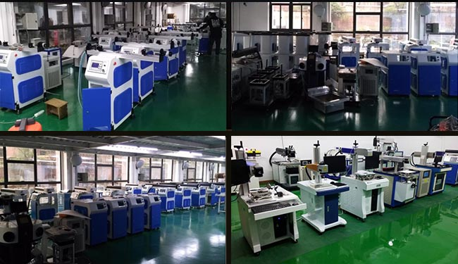 Ving 400W YAG Laser Welding Machine for Metal Channel Letter Making