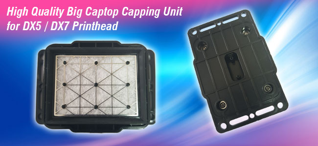 Big Captop Capping Unit for EPSON DX5 / DX7 Printhead(L:8cm,W:5cm)