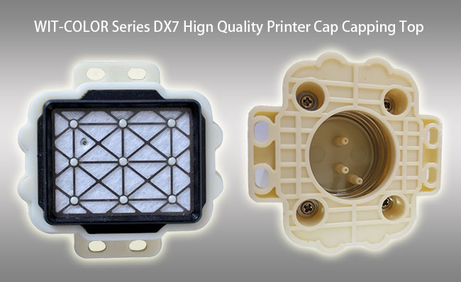 WIT-COLOR Ultra 9000 / 9100 / 9200 Series Printer DX7 Metal Strainer Cap Capping Top (Length 4CM, Width 3CM)