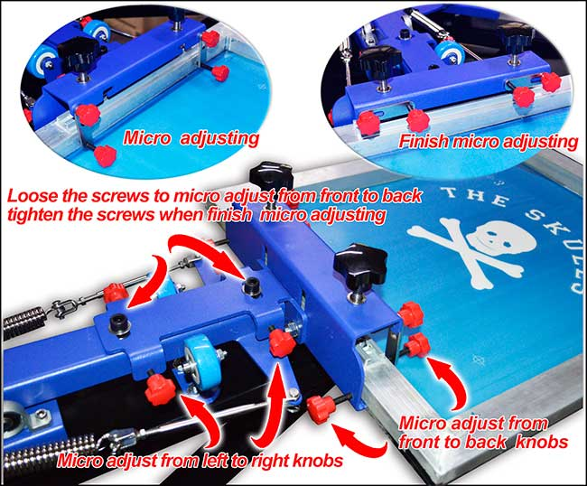 8 Color 8 Station Screen Printing Press Micro-registration Double Rotary Equipment