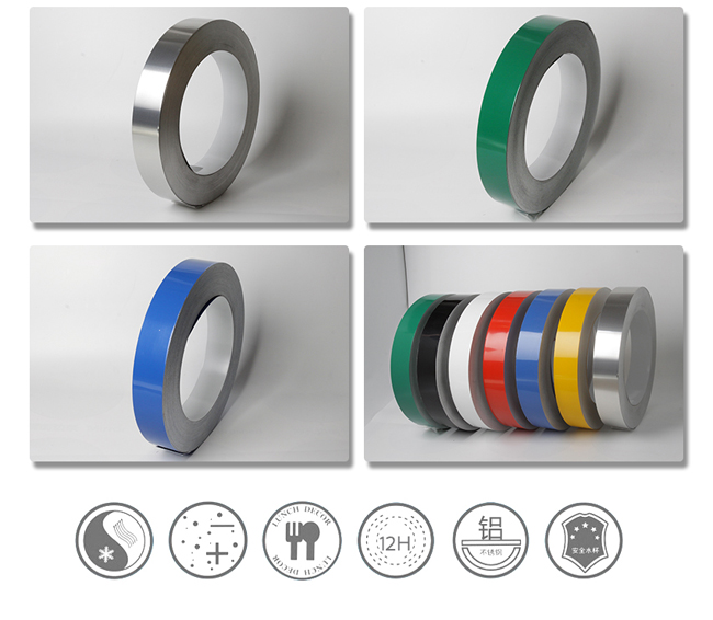 Aluminum Tape (Flat Coil without Folded Edge, 2 Rolls / ctn) for Channel Letter Sign Fabrication Making
