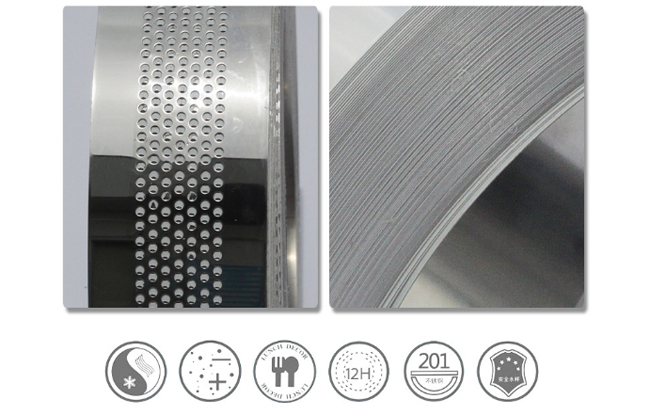 Flat Stainless Steel Coil with Punched Hole for Channel Letter Sign Fabrication Making