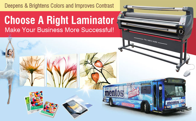 Luxury Heat Assisted Cold Laminator