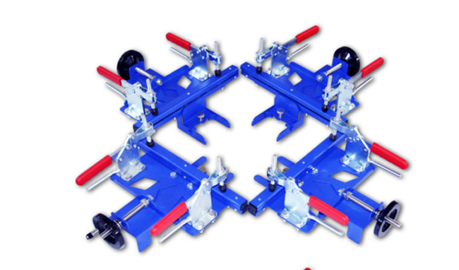 Below Any Combined of Manual Screen Stretcher Screen Printing Stretcher