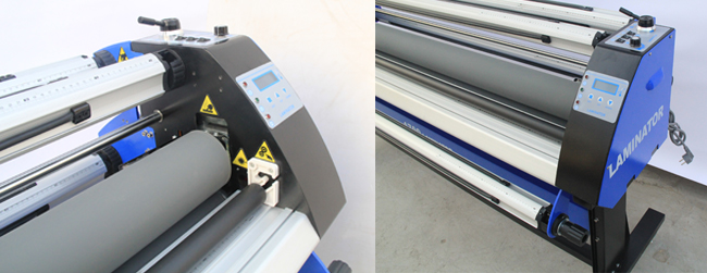 Economical Full - auto Wide Format Cold Laminator, with Heat Assisted