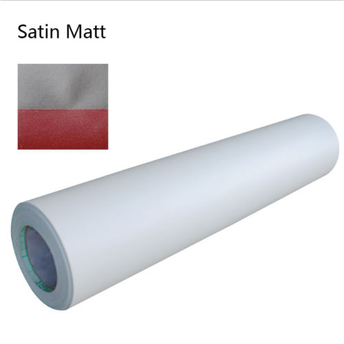 Sain Matt Paper Adhesive Glue Cold Laminating Film