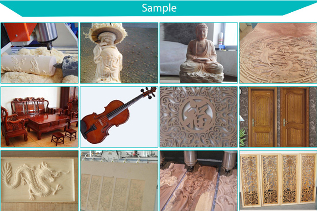 Products made by CNC Router Machine