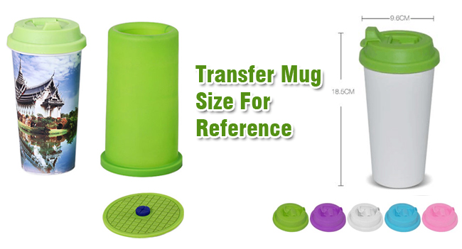 3D Sublimation Silicone Mold Straight Tube Mug Clamp, Heat Transfer Mugs Clamp