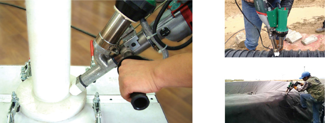 Handheld Plastic Extrusion Welder Hot Air Extruder