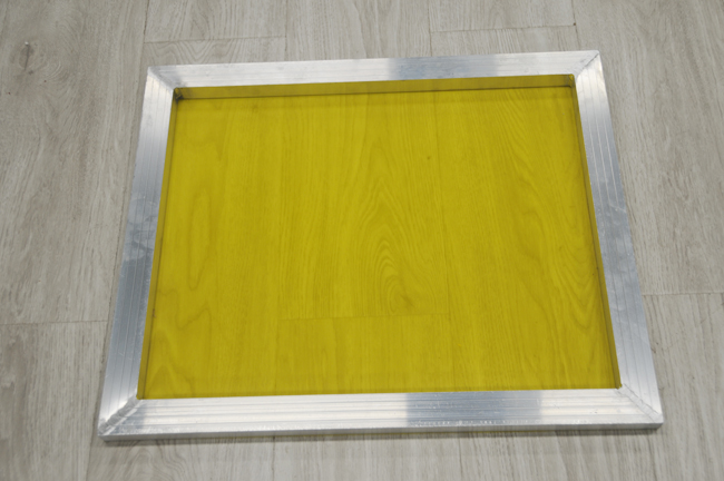 Aluminum Screen Printing Screens With 200 Yellow Mesh Count